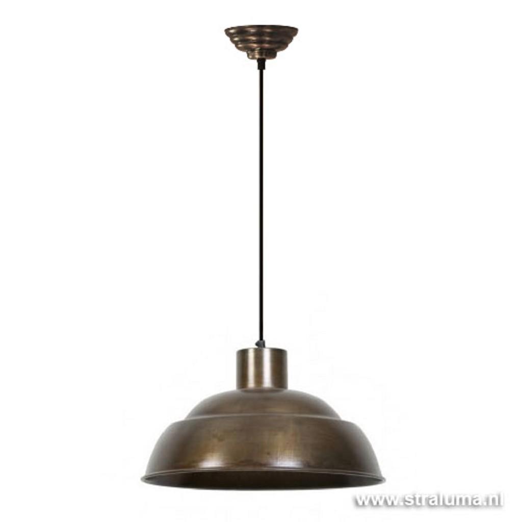 L&L hanglamp Tamara antiek brons