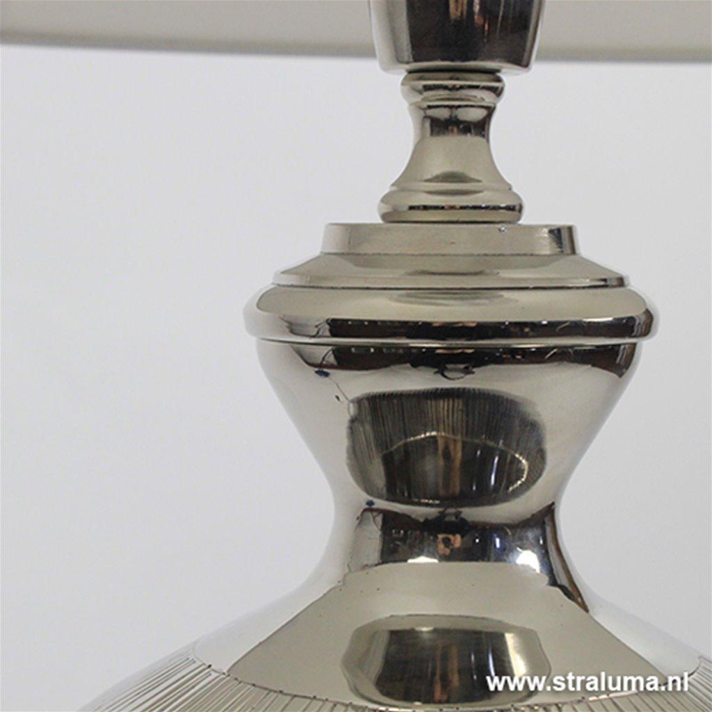 **Lampvoet Camilia vaaslamp zilver