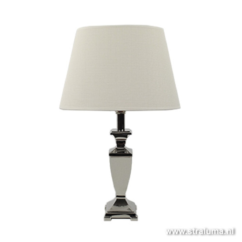 Zilver tafellamp-lampvoet Orissa