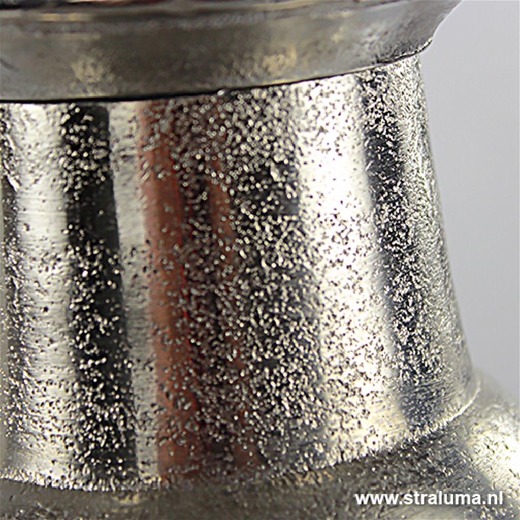 *Light & Living Hanglamp Demi wit/zilver