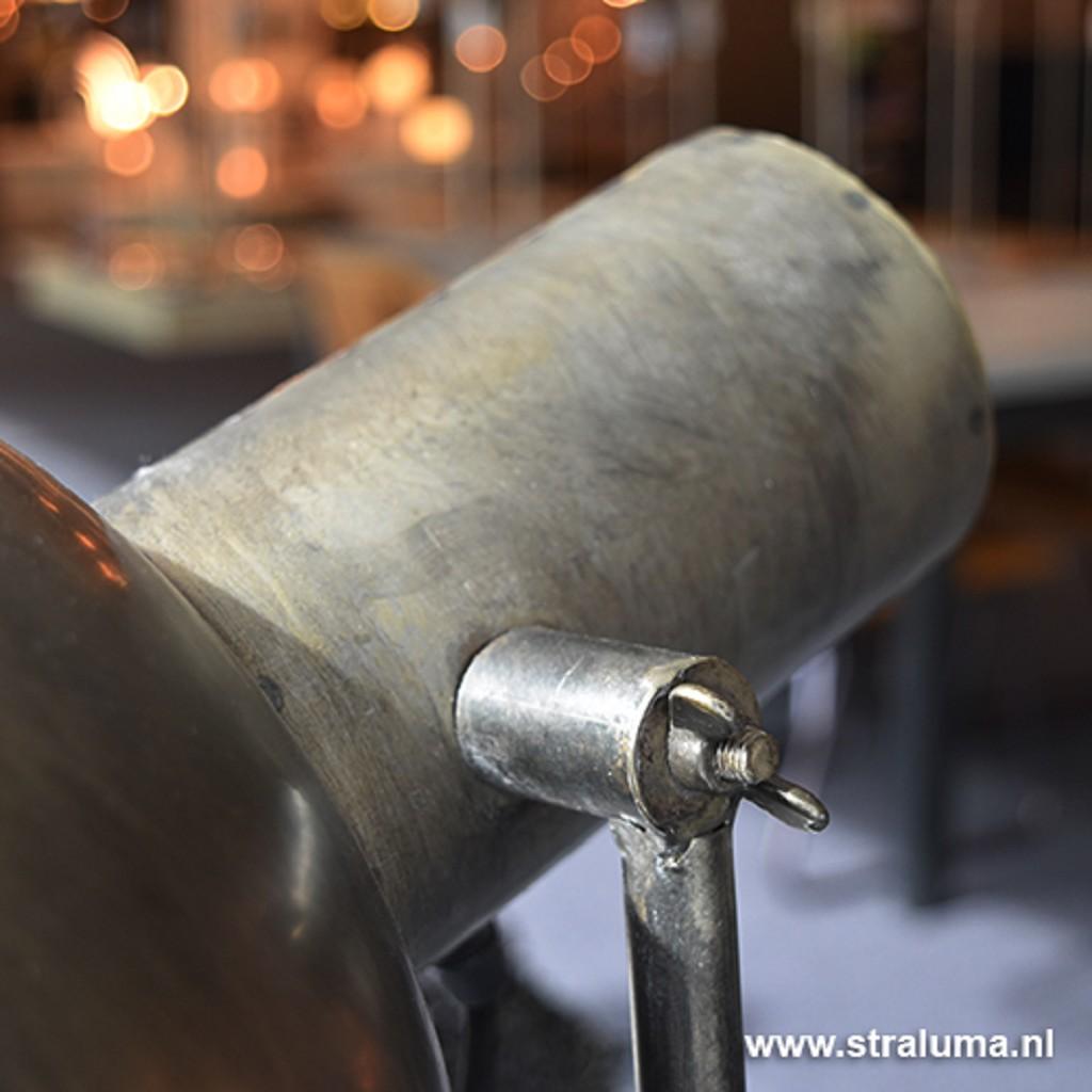 Kyan staande lamp industrie oud zink