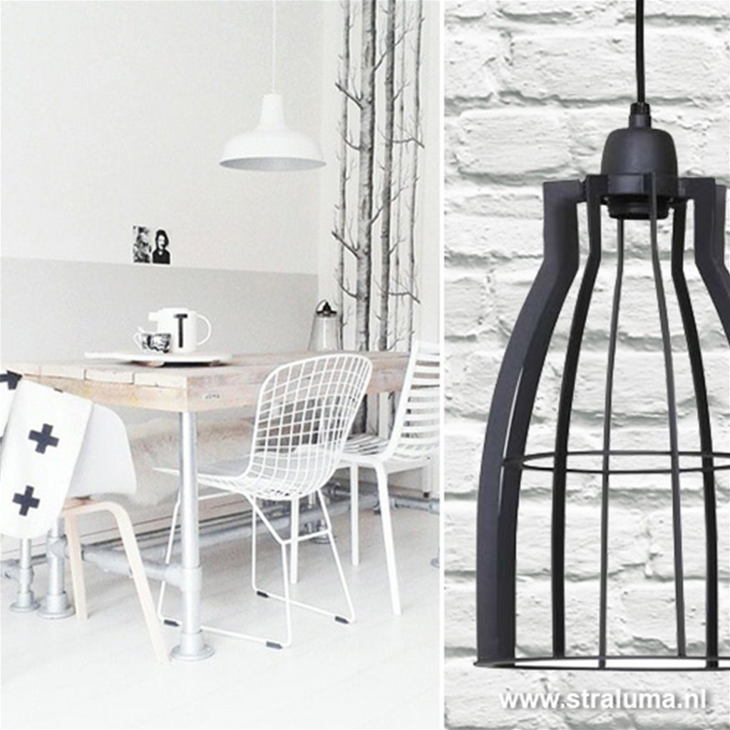 Industrie hanglamp Amira Light & Living
