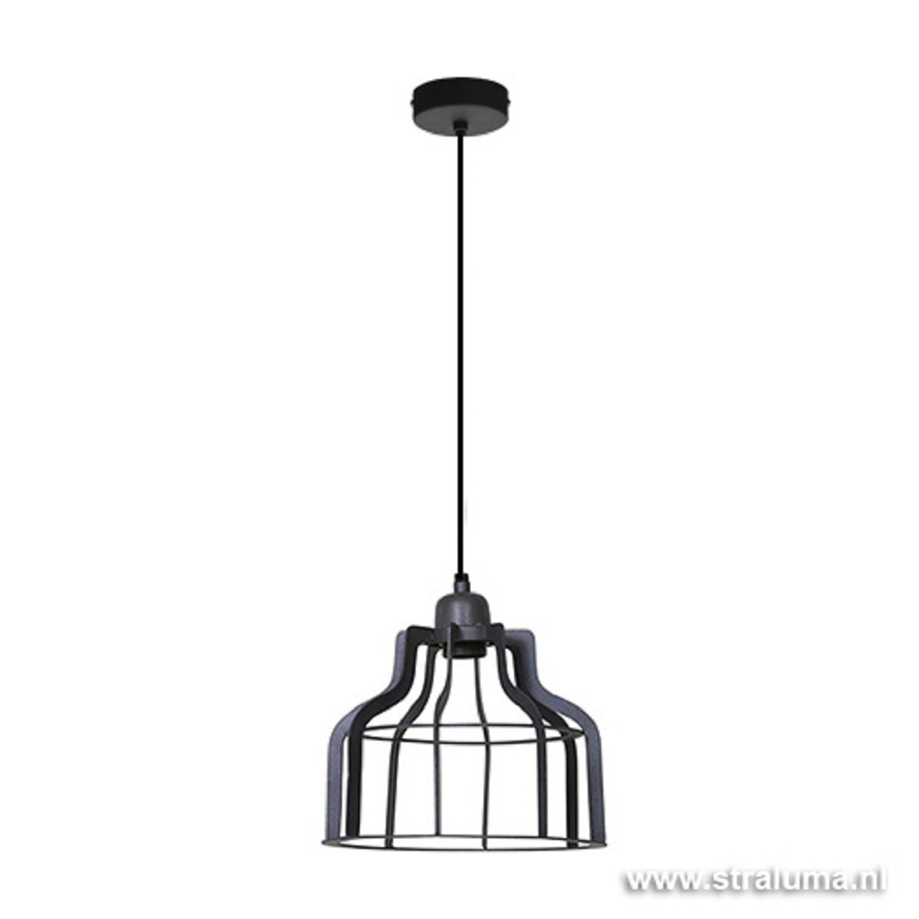 Light & Living hanglamp Adine antraciet