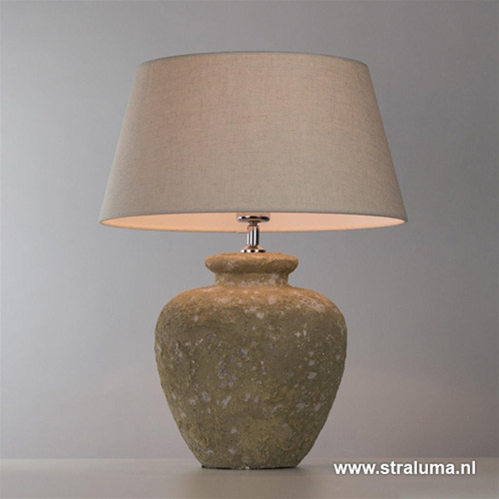 Landelijke stenen tafellamp Galeras