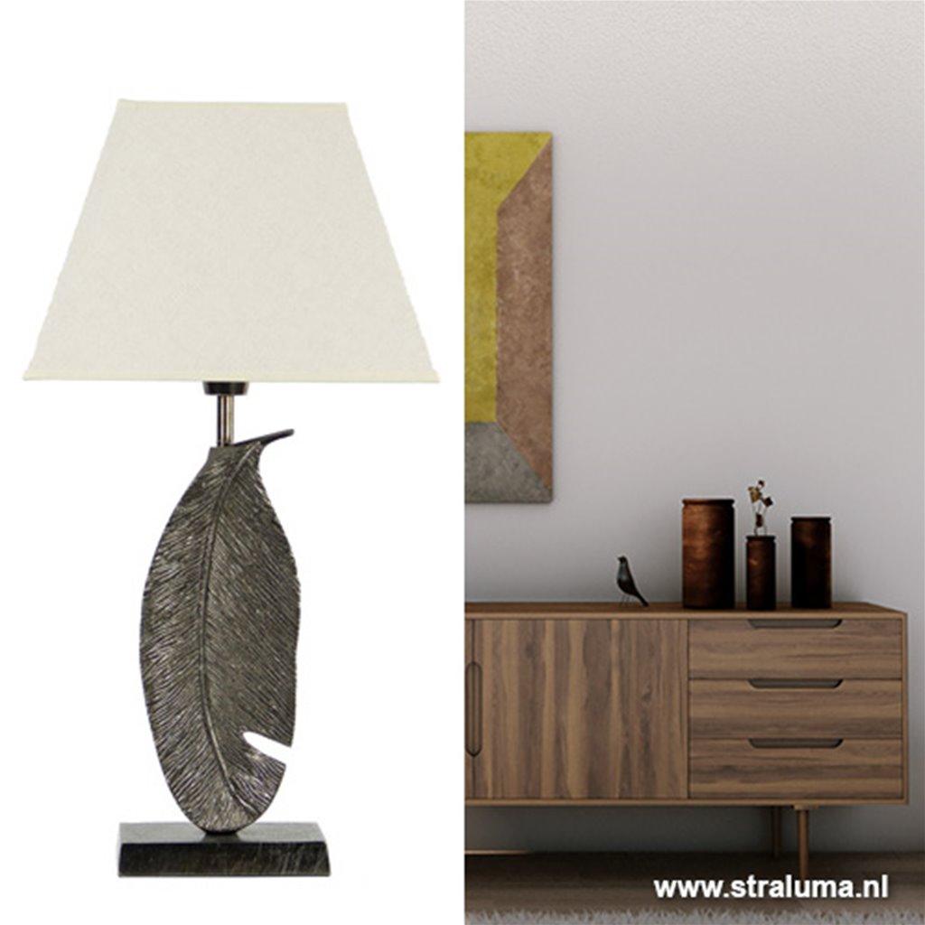 Metalen lampvoet met veer L&L