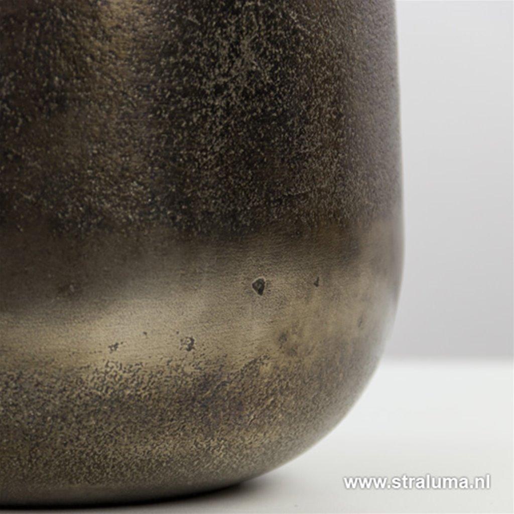 Metalen vaaslamp-lampvoet Berakit black
