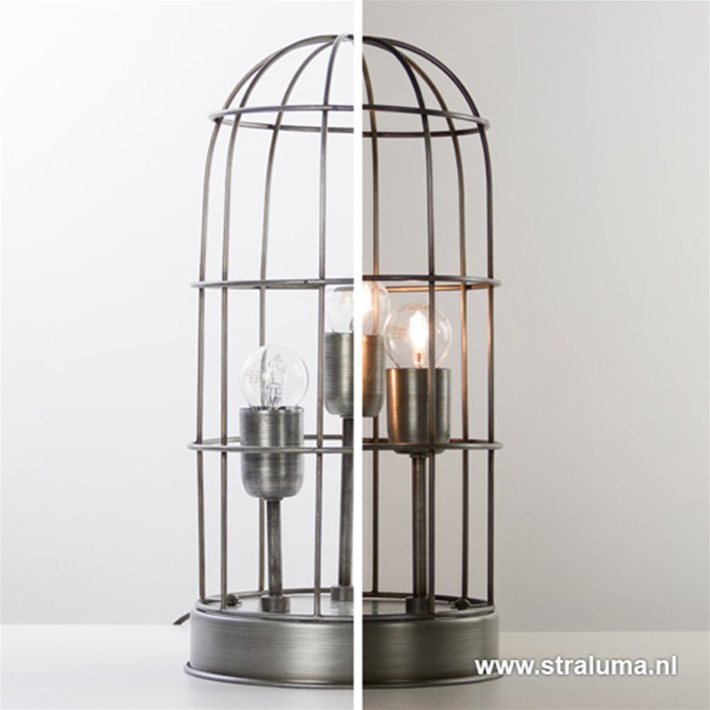 Light & Living tafellamp Carandira 3-L