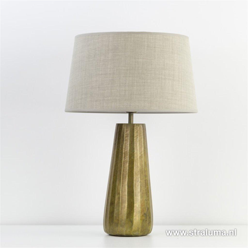 Lampvoet Saley Ruw Antiek Brons