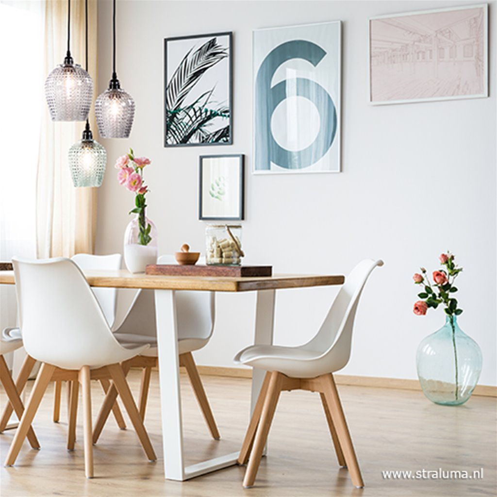 Kleine hanglamp Berdina Light & Living
