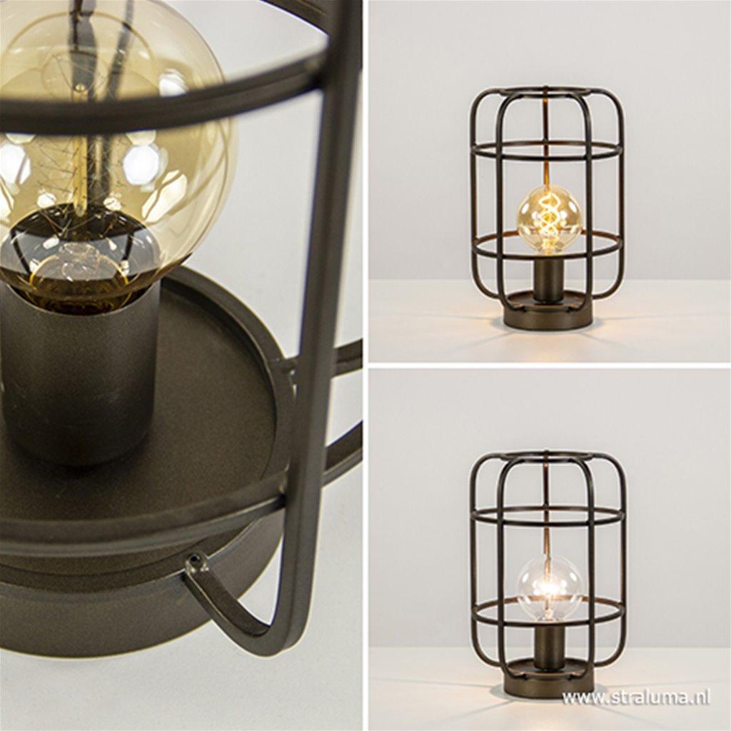 Tafellamp Parker brons Light Living