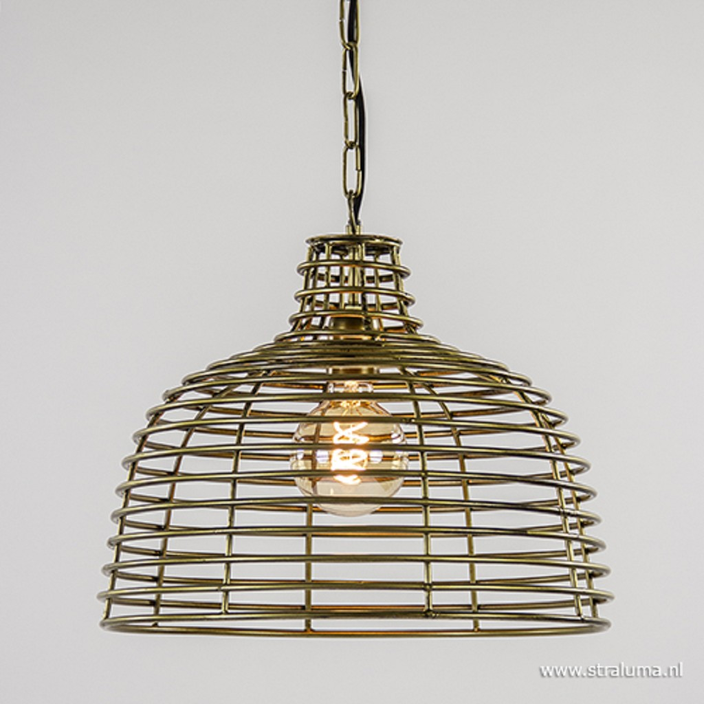 Light & Living hanglamp Joy antiek brons