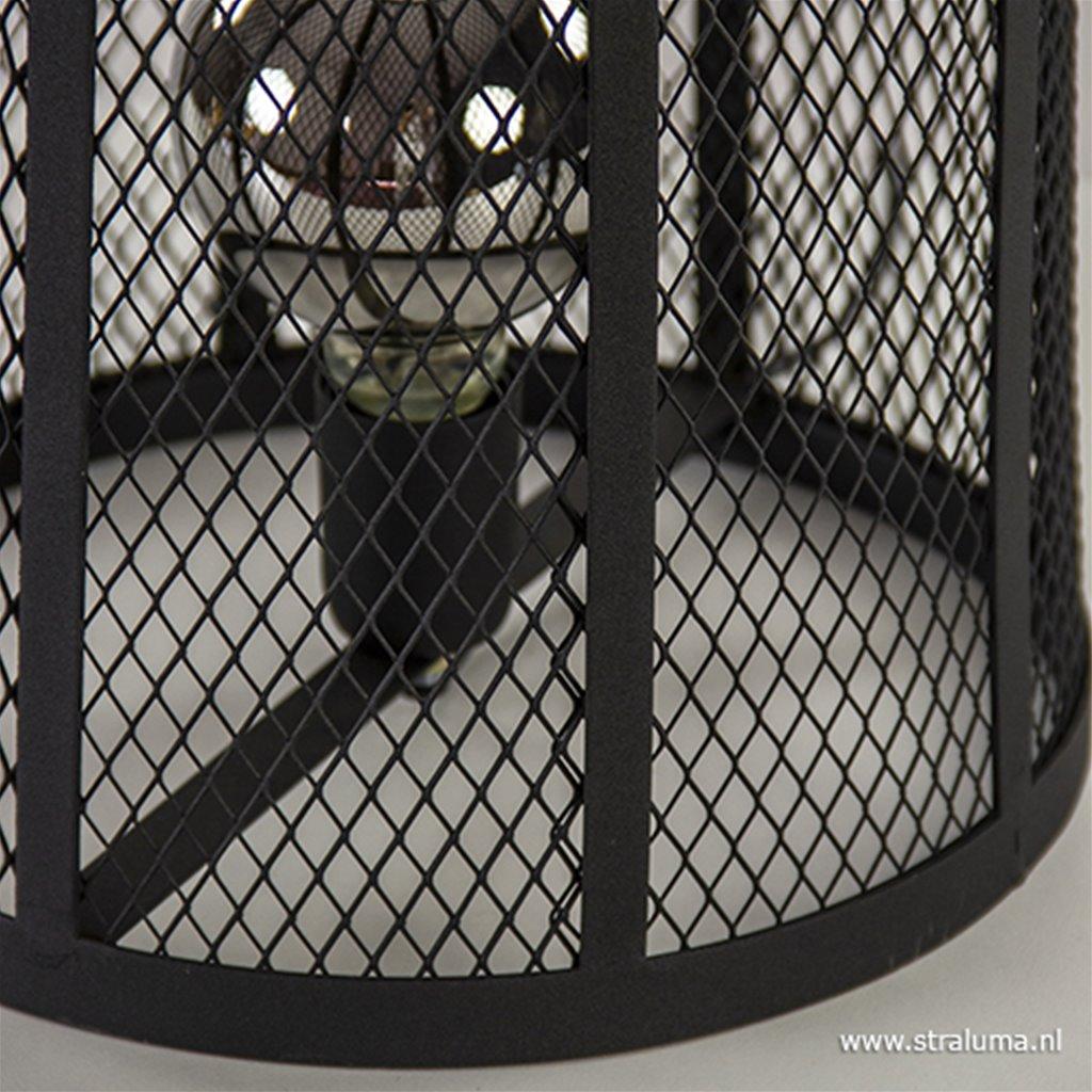 Zwarte tafellamp Goeja Light & Living