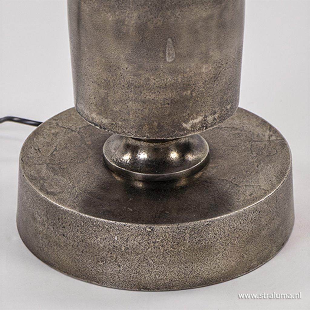Ruw metalen vloerlamp Danga excl. kap