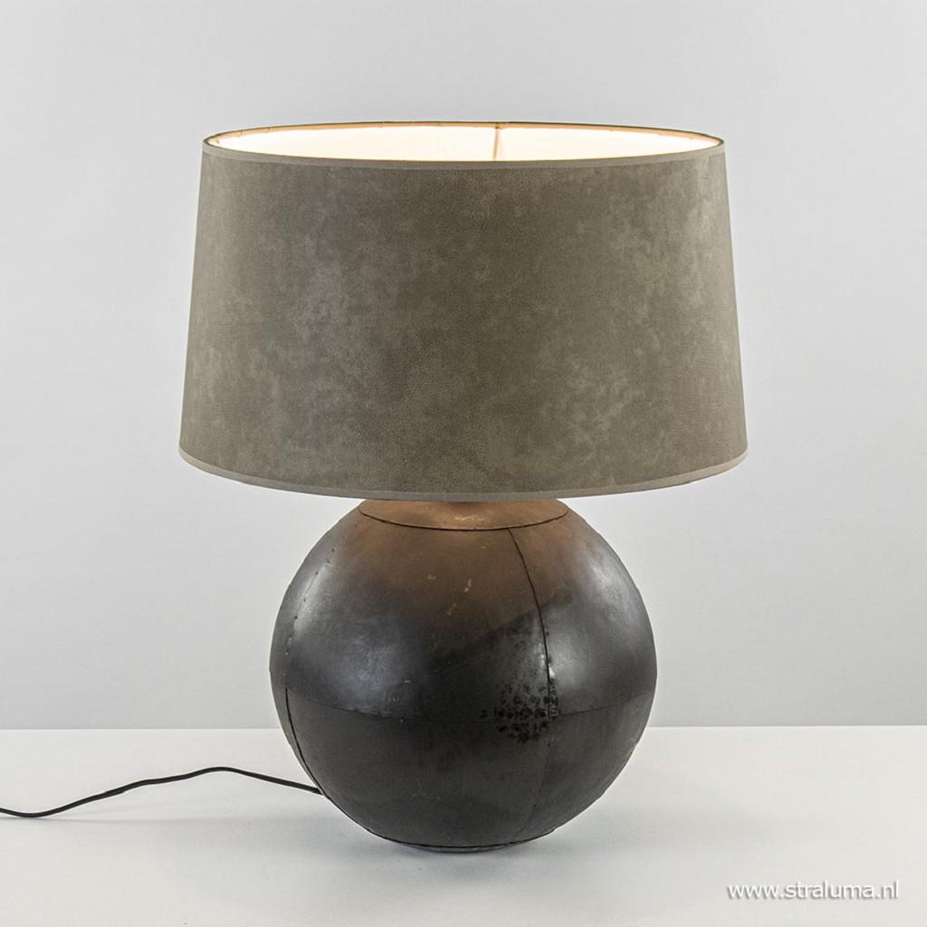Light & Living lampvoet Ebula mat zwart