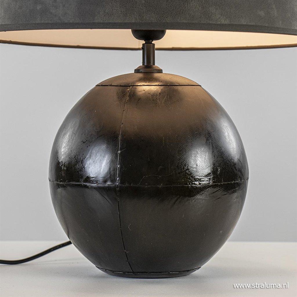 Mat zwarte lampvoet Ebula Light & Living