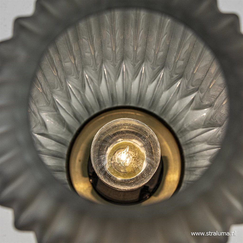 Light & Living tafellamp Ivot mat olijf groen