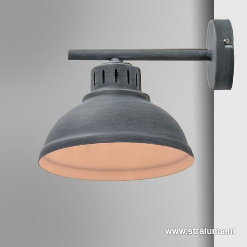 Industriële wandlamp betonlook
