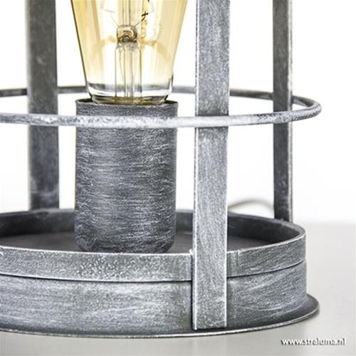 Industriele tafellamp betonlook Kooi