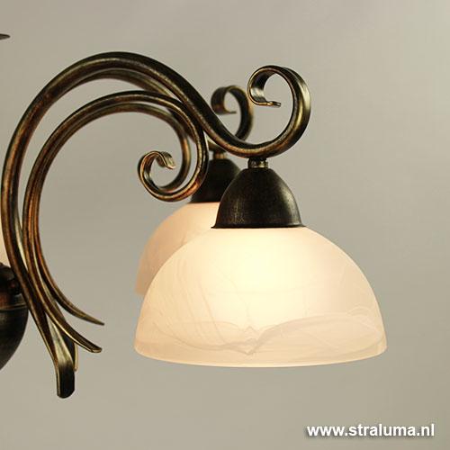Klassieke hanglamp voor keuken woonkamer straluma for Klassieke hanglamp