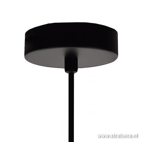 draad hanglamp zwart chroom slaapkamer straluma