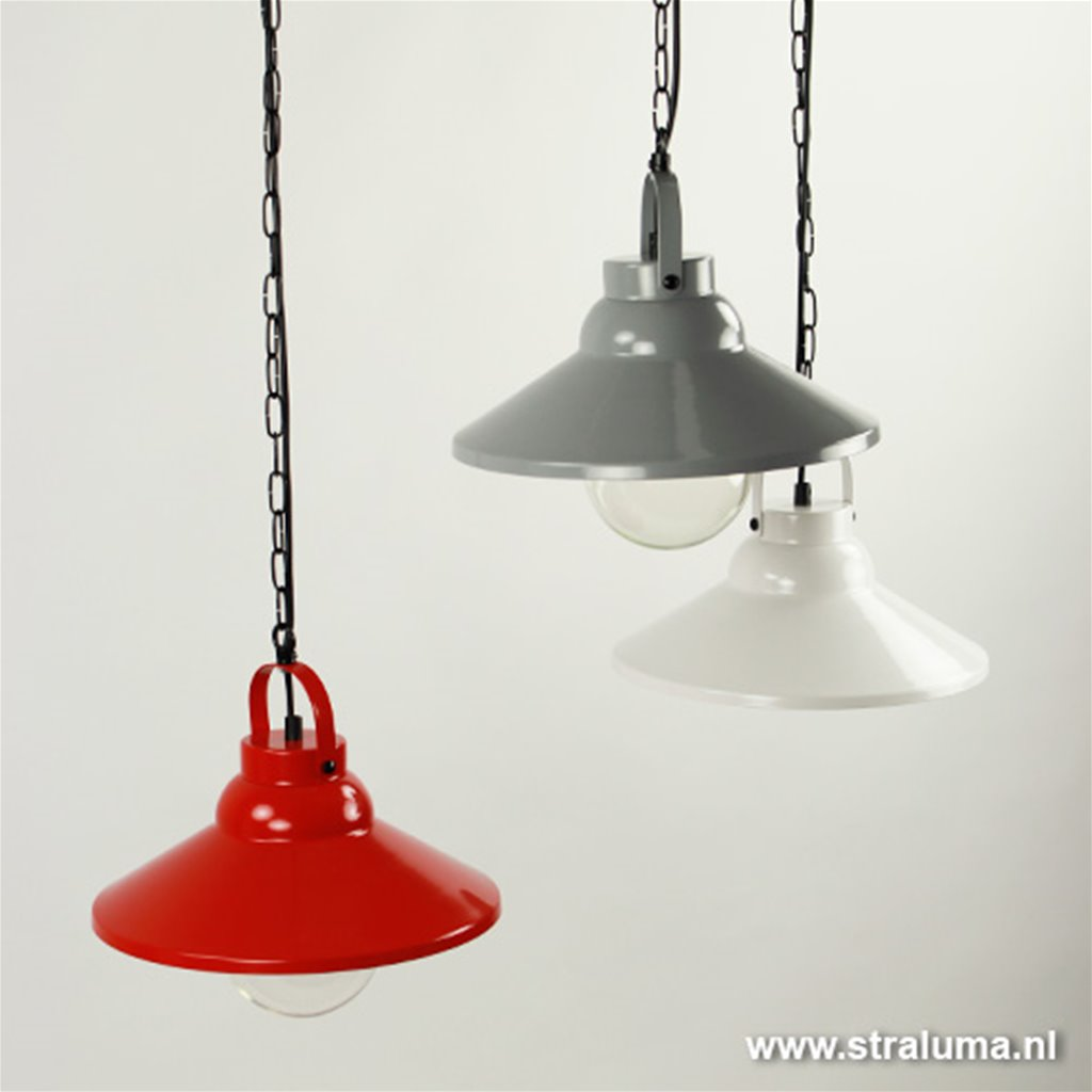 Hanglamp industrie wit keuken-bar-hal