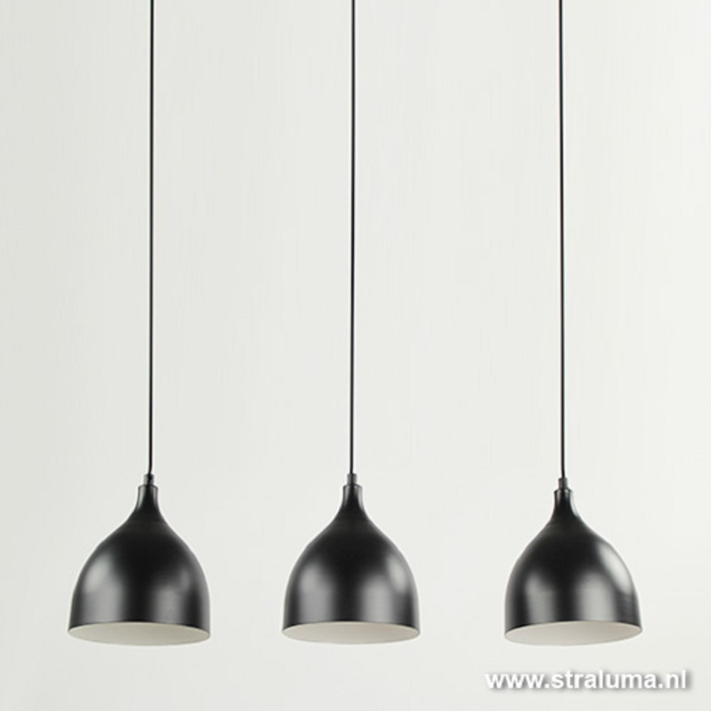 Kleine hanglamp eettafel zwart of bar