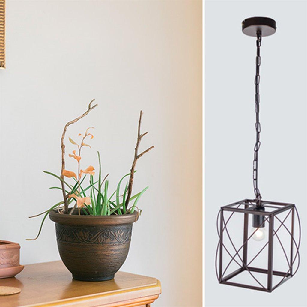 * Lantaarn hanglamp Corridor bruin