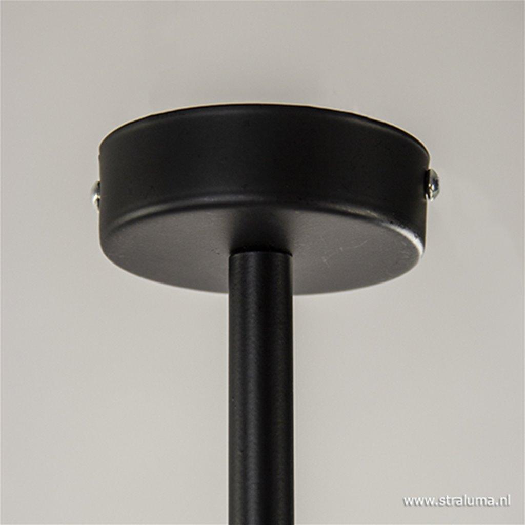 Moderne plafondspot zwart verstelbaar