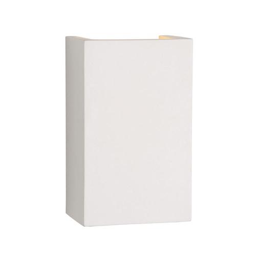 Moderne wandlamp hoogwaardig gips rechthoek