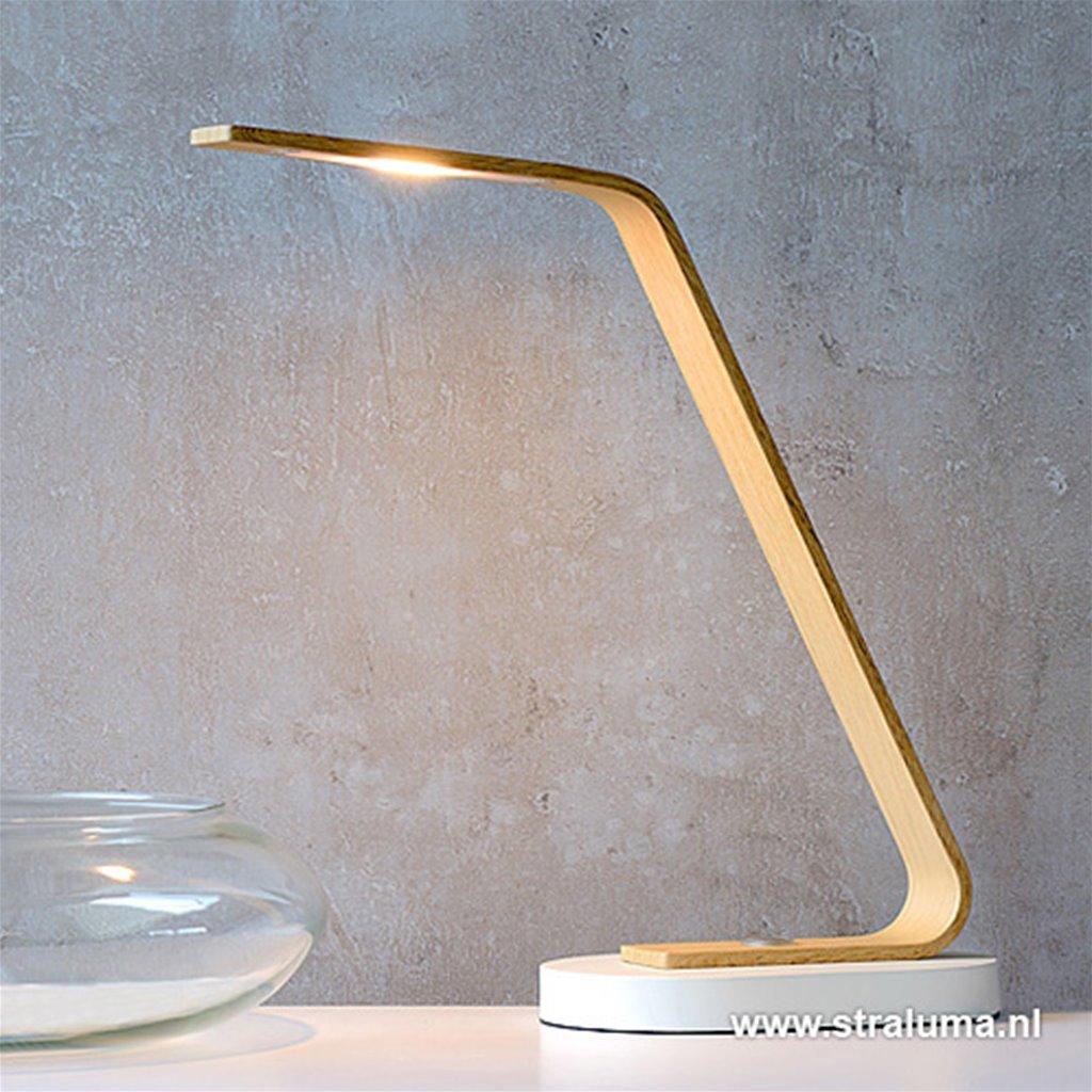 Moderne tafellamp LED met touchdimmer
