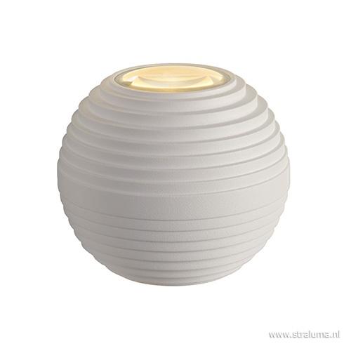 Wandlamp bol wit IP54 3000k niet dimb.