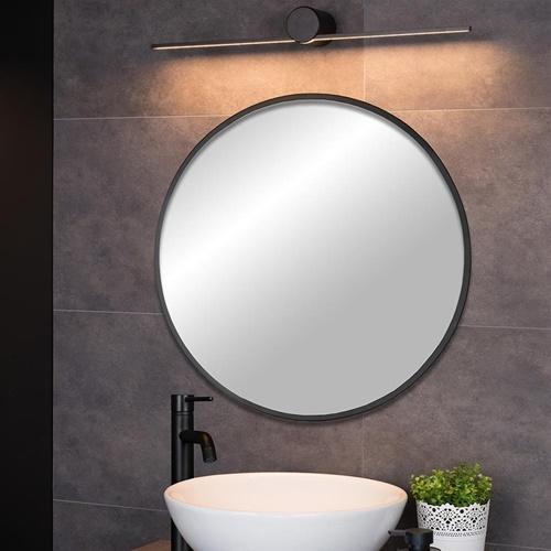 Moderne LED wandlamp badkamer IP44 zwart