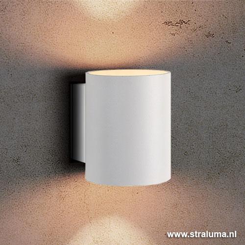 Kleine design wandlamp wit straluma for Design wandlamp