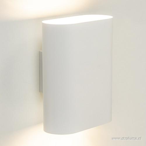ovalis wandlamp wit design slaapkamer | straluma, Deco ideeën