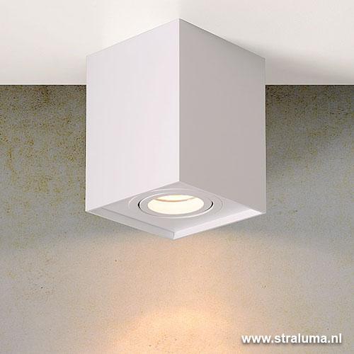 design plafond opbouw spot tube wit straluma. Black Bedroom Furniture Sets. Home Design Ideas