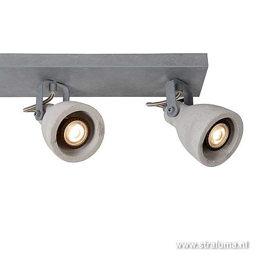 Geliefde LED plafondlamp-spot beton industrie | Straluma JE89