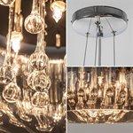 Pearl Raindrops hanglamp glas smokey