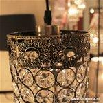 *Brons hanglamp orientaals Byzantium