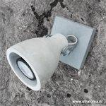 **Industriële plafondlamp-spot beton LED