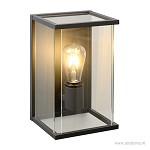 Moderne wandlamp binnen/buiten met glas