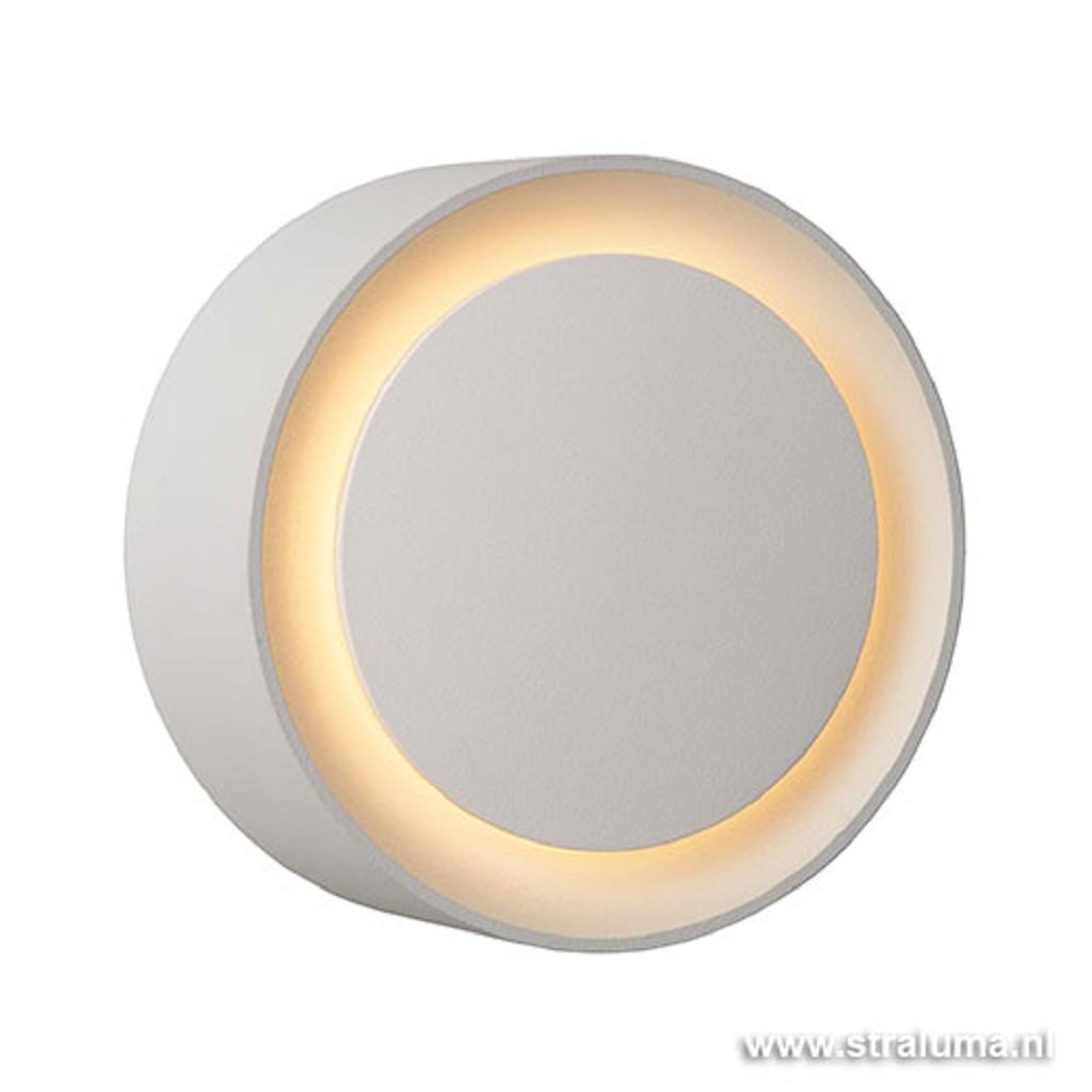 Badkamer wandlamp LED Laura rond wit