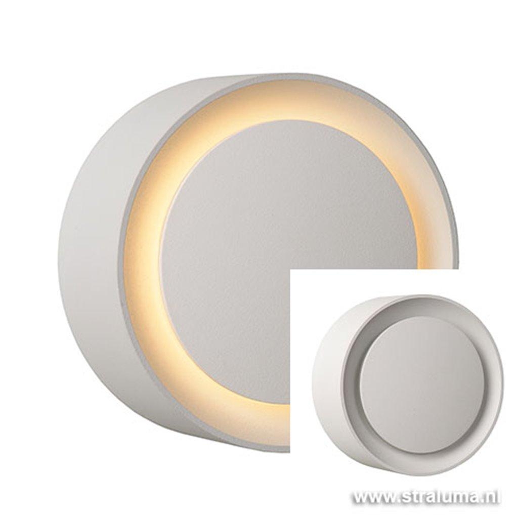 **Badkamer wandlamp LED Laura rond wit