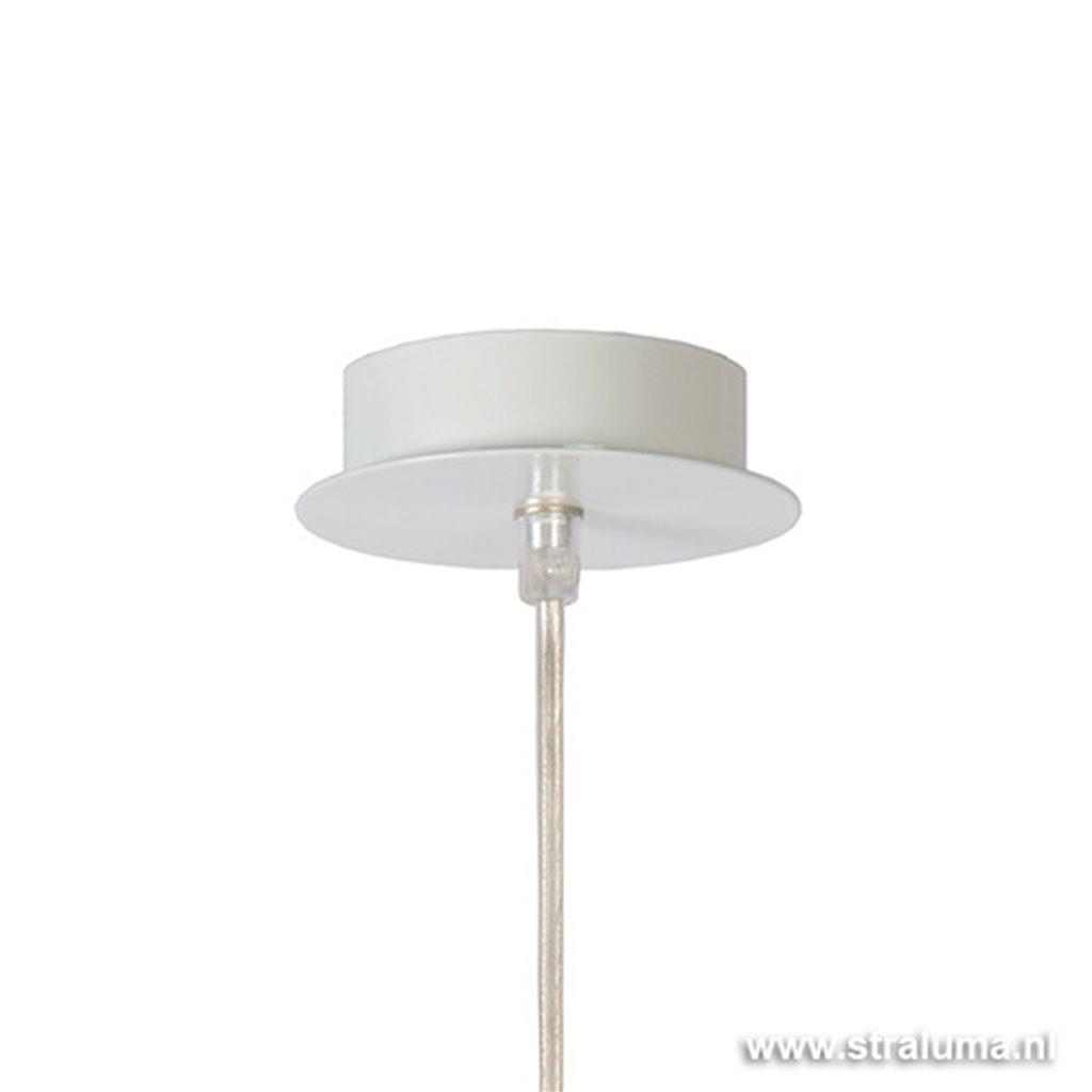 Meisjeskamer hanglamp Deborah wit