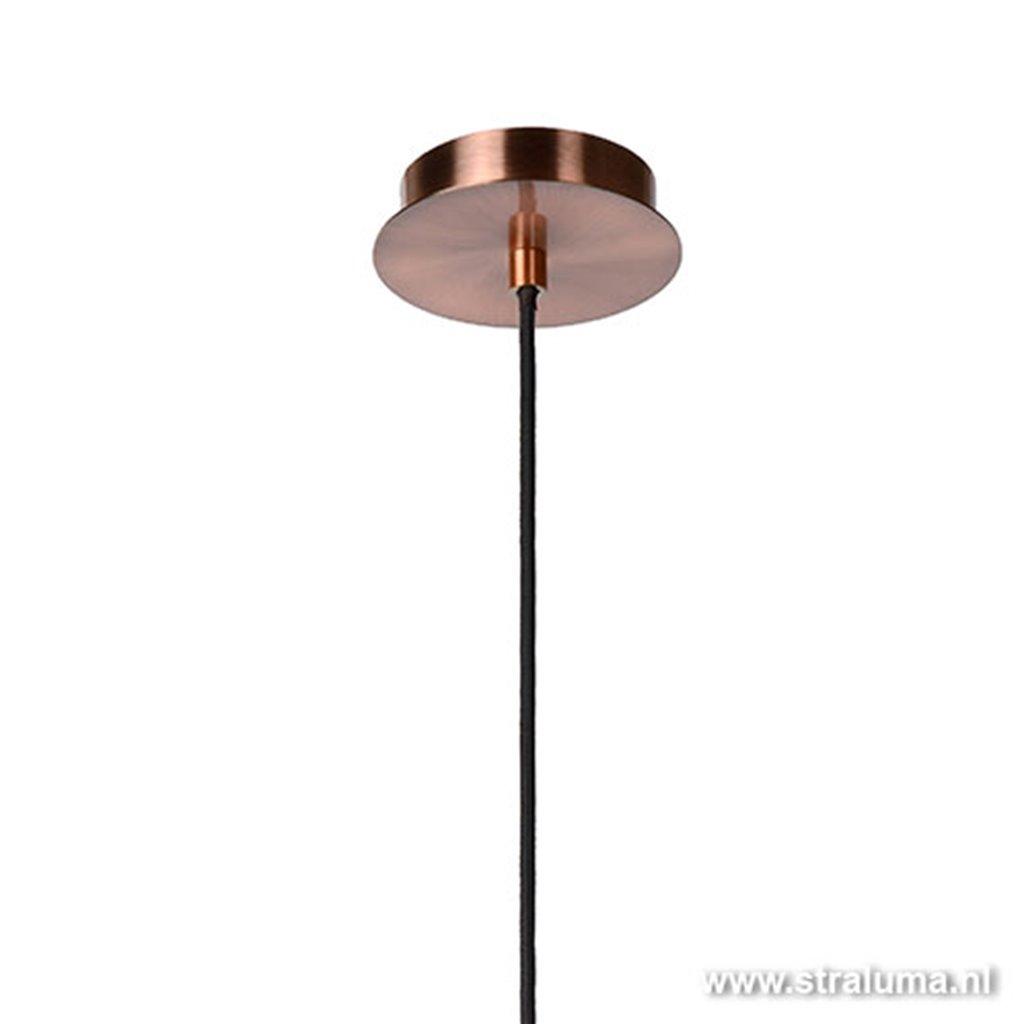 Draad hanglamp koper Moino eettafel