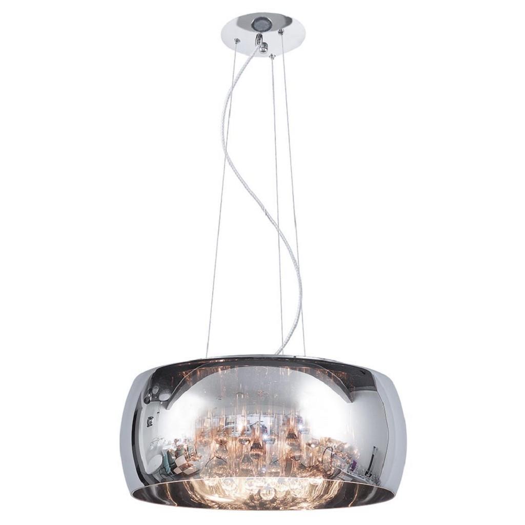 Hanglamp Pearl Raindrops smokey glas