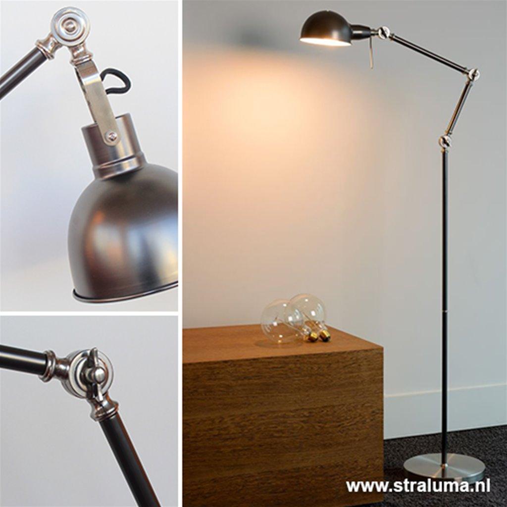 Wonderlijk Industriele staande lamp vintage Campo | Straluma HE-29