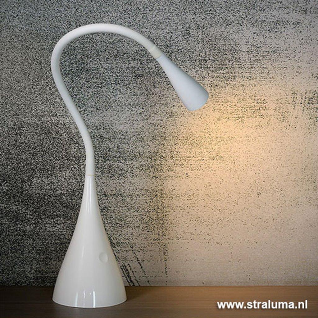 Moderne LED leeslamp wit verstelbaar