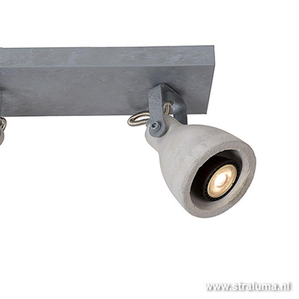 Beton plafondspot LED industrie keuken