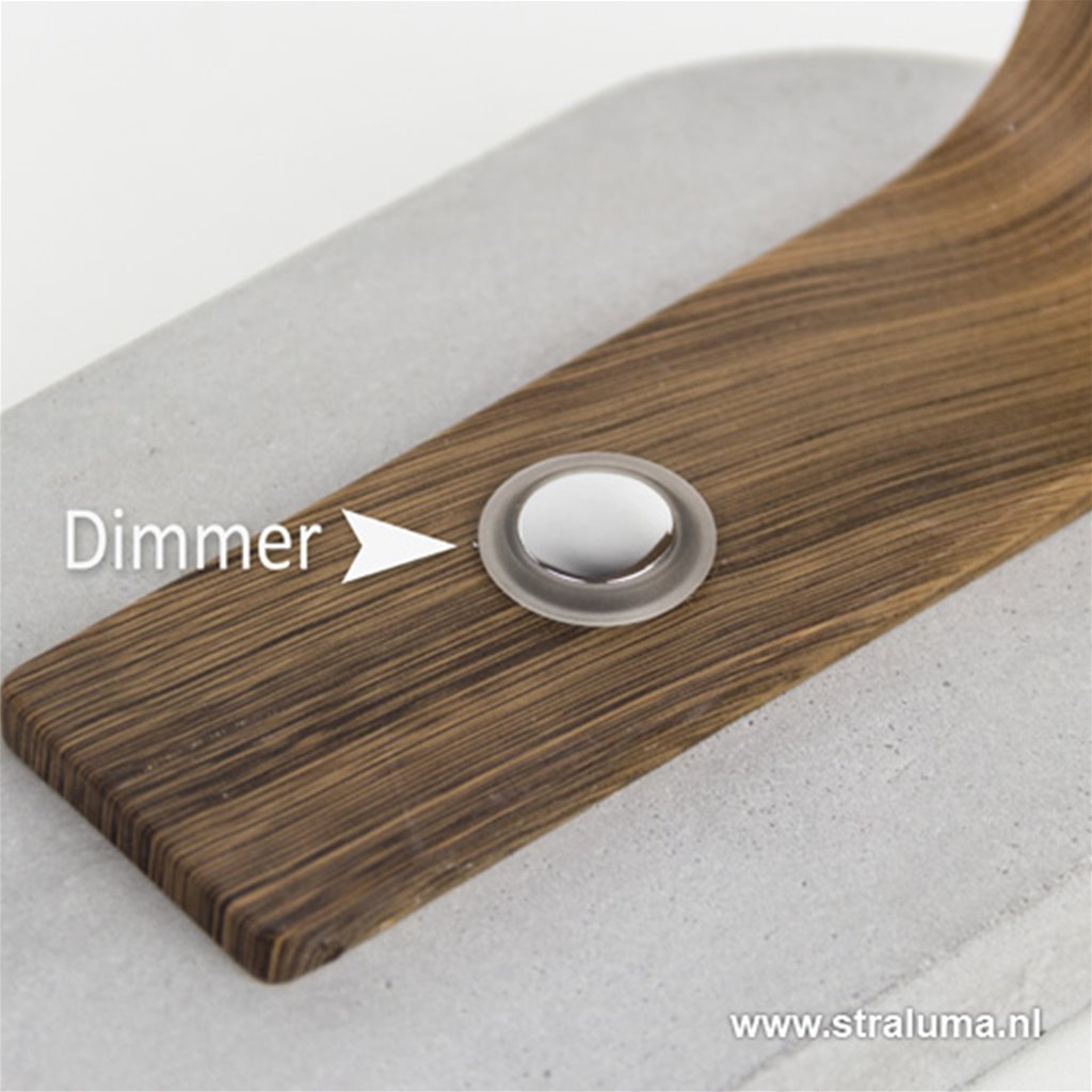 *Design bureaulamp LED met touchdimmer