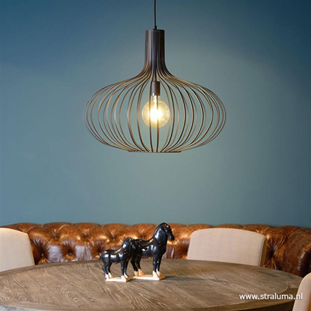 Hanglamp pendel metaal zwart